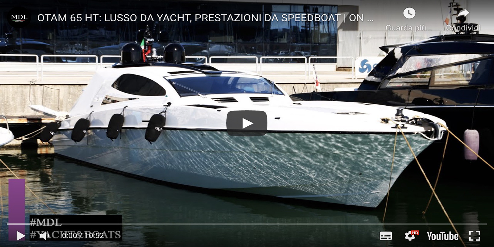 OTAM 65 HT: yacht luxury, speedboat performance