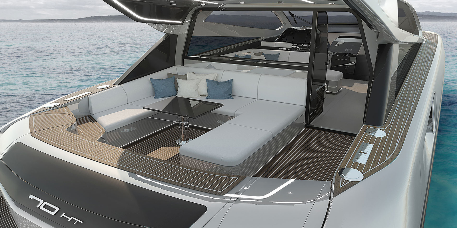 OTAM 70 HT - The new yacht takes shape, inspired by luxury cars and jets